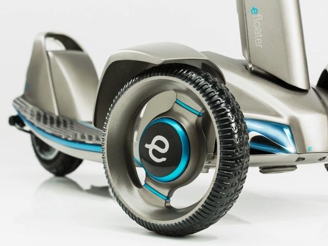 E-floater - самокат готов к первым испытаниям