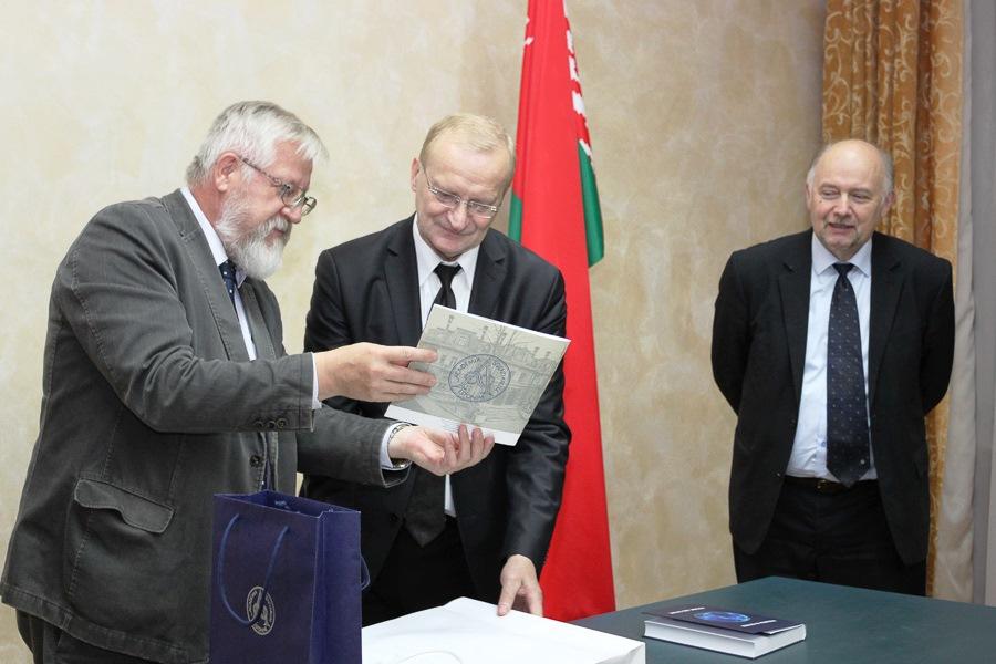 Президент НАН Эстонии прибыл в Беларусь с официальным визитом