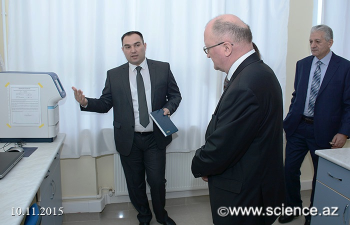 Беларусь и Азербайджан развивают сотрудничество - Знакомство с лабораториями