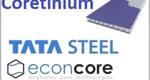 Tata Steel и EconCore презентовали свой совместный продукт – Coretinium