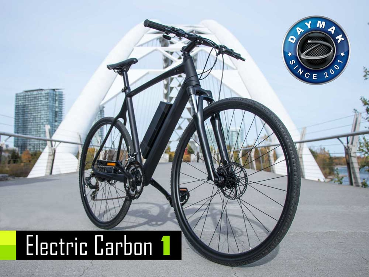 электрический велосипед Daymak ec1 презентация