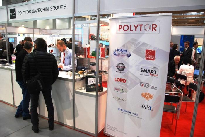 Kompozyt-Expo 2015 Polytor Groupe стенд