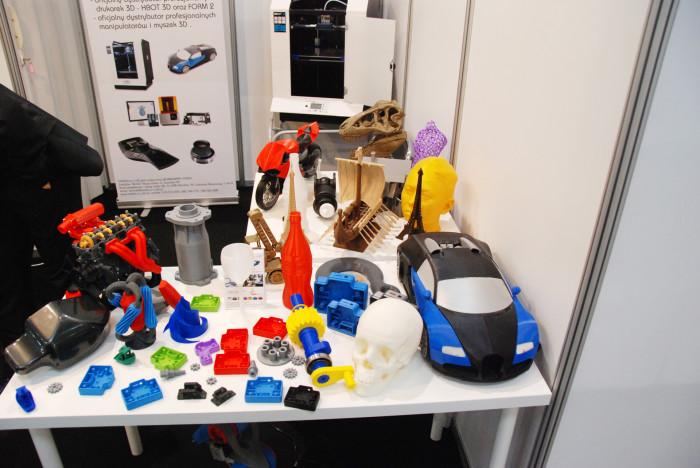 Kompozyt-Expo 2015 детали распечатанные на 3Д принтере