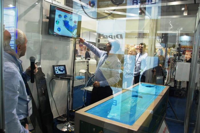 Kompozyt-Expo 2015 демонстрация работы оборудования