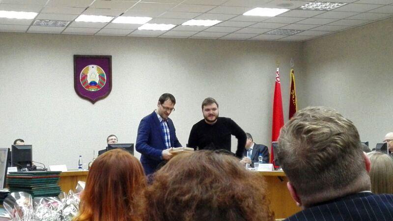 Лучший инновационный проект Беларуси 2015 (фото) награждение
