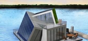 Автономный дом на воде со всеми коммуникациями разработали в Германии!
