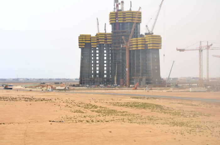 Jeddah Tower 6 августа 2015 года