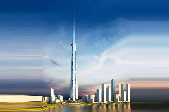 Jeddah Tower квартал