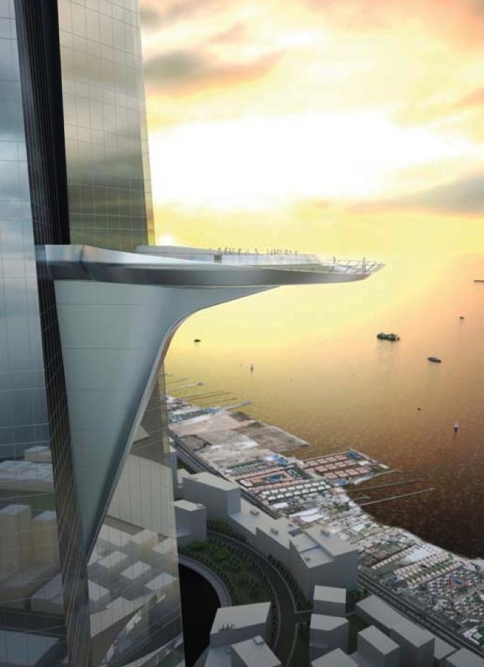 Jeddah Tower смотровая площадка