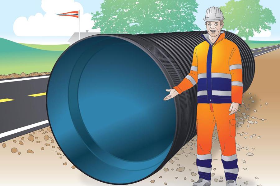 Pipelife запускает в Норвегии производство пластиковых труб большого диаметра