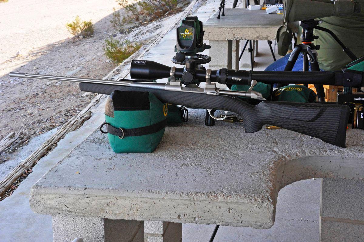 Sako 85 Carbonlight стрелковые испытания