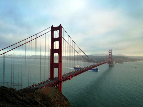 Сан Франциско Золотые Ворота