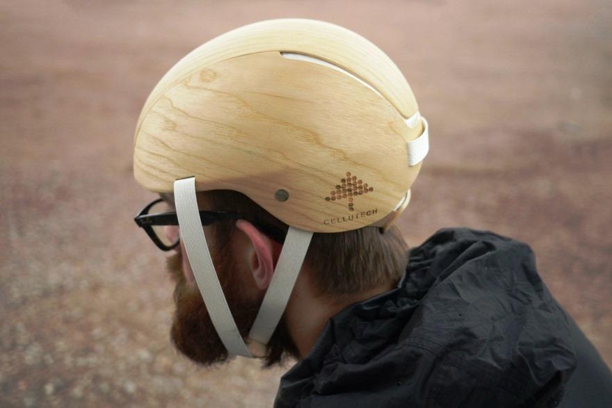 Изделия из биопластика - Велосипедный шлем из биопластика