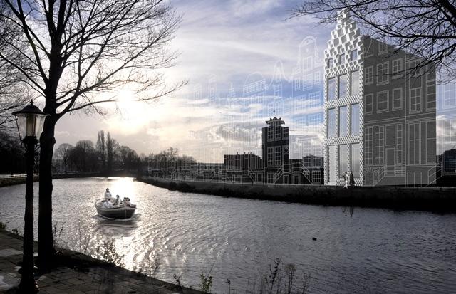 дом на 3D принтере Dus Architects