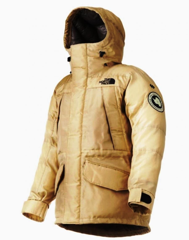 куртка North Face из искусственного шелка биопластиков