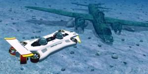 Dragon от DeepFlight – личная подводная лодка из композитов