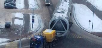 На ГродноАзот доставлена башня для абсорбции нитрозных газов