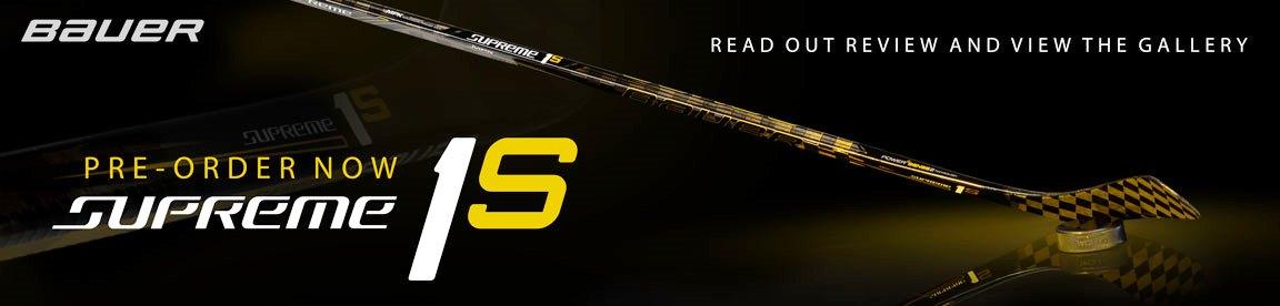 Хоккейная клюшка из углепластика Supreme 1S – новинка от Bauer Hockey