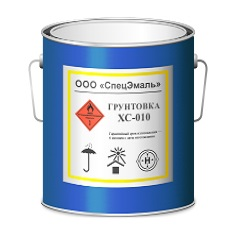 сополимеро-винилхлоридная Грунтовка ХС-010 спецэмаль