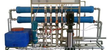 Очистка воды на основе обратного осмоса и ультрафиолета