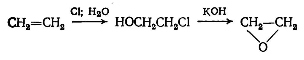 этиленоксид получение
