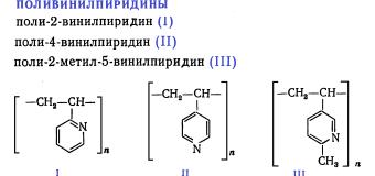 Поливинилпиридины
