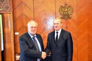 Завершился визит официальной делегации НАН Беларуси в Польшу