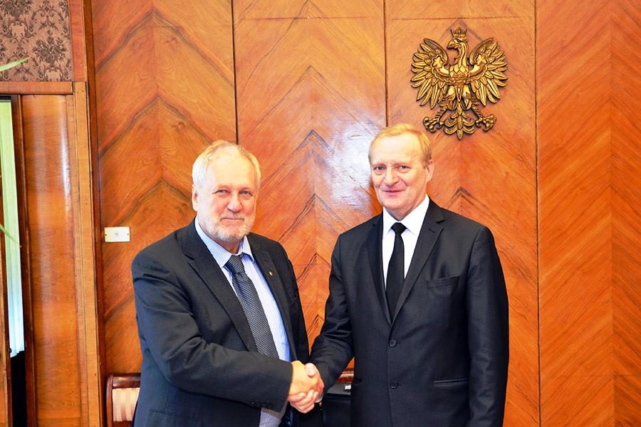 Визит официальной делегации НАН Беларуси в Польшу