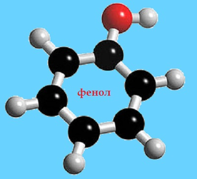 фенол строение молекулы