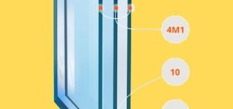 Конструктивные особенности стеклопакета окна ПВХ