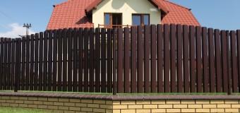 Варианты ограждения для частного дома