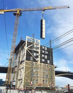 самое высокое деревянное здание 14 этажей норвегия