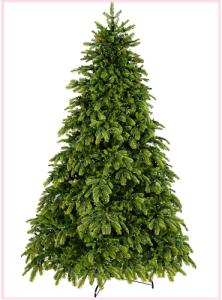 Модель искусственной елки из полиэтилена