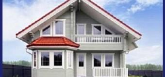 Строительство домов из клееного бруса, проекты комбинированных домов