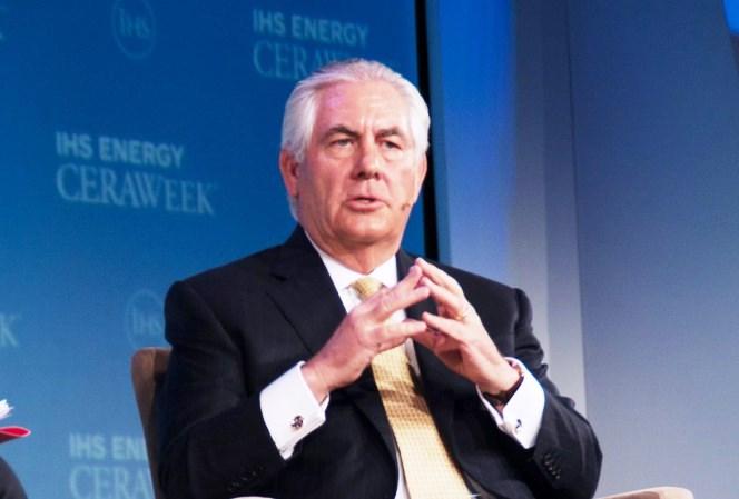 Новый государственный секретарь США Рекс Тиллерсон – бизнесмен