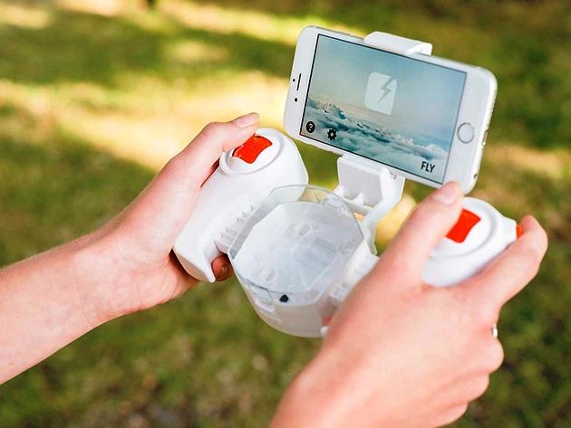 Самый маленький дрон в мире (фото, видео)