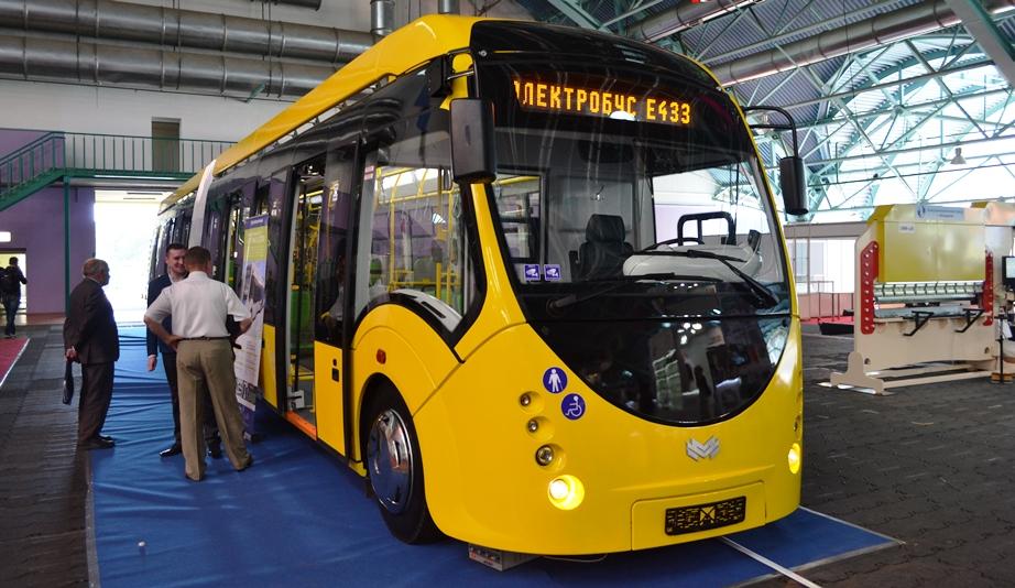 Первый белорусский электробус на Белорусском промышленном форуме 2017, ТехИнноПром и ПЛАСТЕХ
