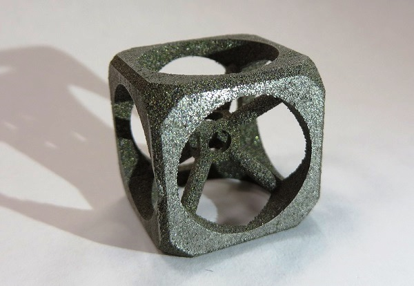 Изделие распечатанное на 3D-принтере металлом в рамках проекта 3D-Fab Lab