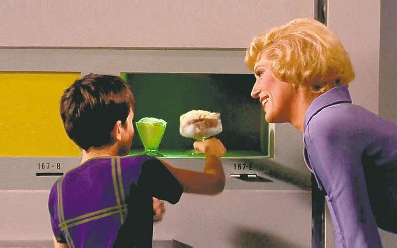 3д-печать - интересные факты: прототип 3d-принтера, печатающего едой: food replicator из сериала Звездный путь