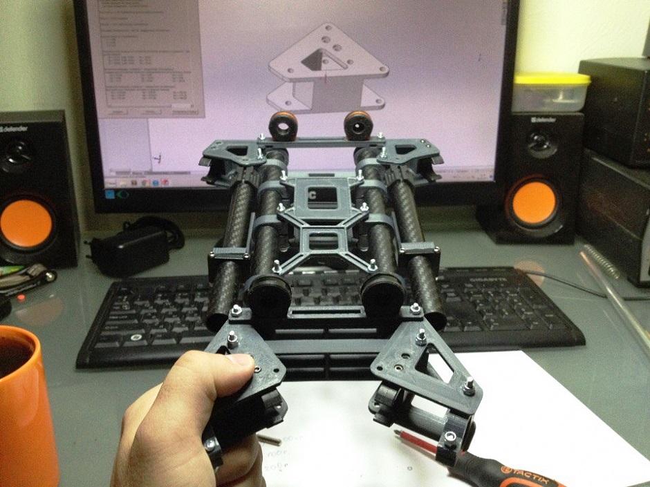 Подробный рассказ о том, как напечатать квадрокоптер на 3d-принтере: комментарии, детали, материалы и оборудование, фотографии по тем