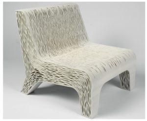 Полимеры в мебельном производстве занимают важное место и потребляются одними из первых, позволяя создавать прочную и удобную мебель: мягкое кресло 3d печать