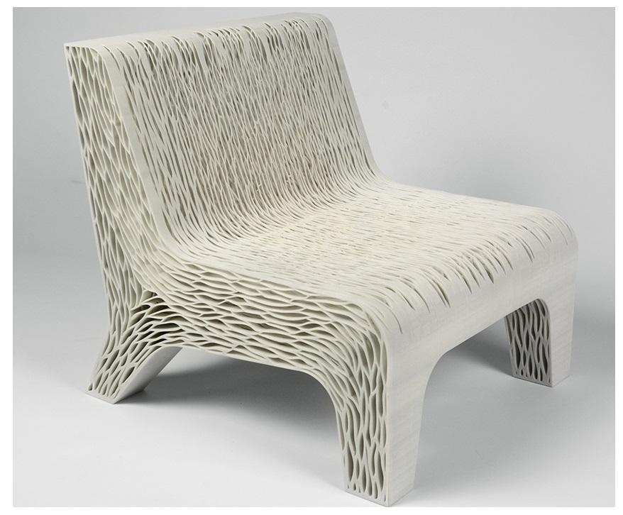 мягкое кресло напечатанное на 3d-принтере - 3d печать
