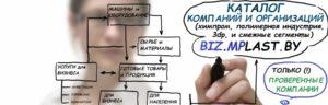 biz.MPlast.by - каталог компаний и организаций, работающих в области химической промышленности и нефтехимии в целом, а также индустрии полимеров и объемной печати в частности, а также ряда смежных и вспомогательных областей