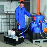 Химические насосы Flux: с магнитной муфтой и полупогружные