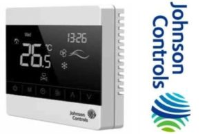 Первый термостат с полупрозрачным дисплеем от Johnson Controls