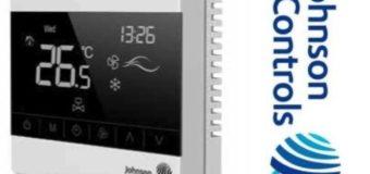 Johnson Controls представила первый термостат с полупрозрачным дисплеем