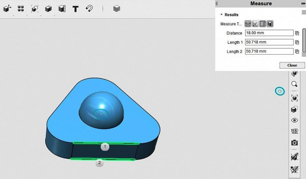 Ремонт детского домика М7000 при помощи 3d-принтера: В общем, отсутствие винта-оси на чертеже и чрезвычайно медленная работа со всей моделью на моем компьютере сподвигли переделать модель под мои вкусы и имеющиеся запчасти. Благо треугольник нарисовать совсем не сложно