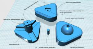 Ремонт детского домика при помощи 3d-печати (фото, видео)