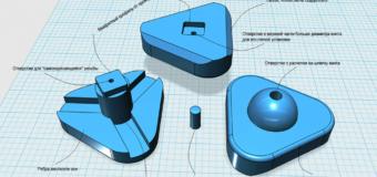 Ремонт детского домика при помощи 3d-принтера