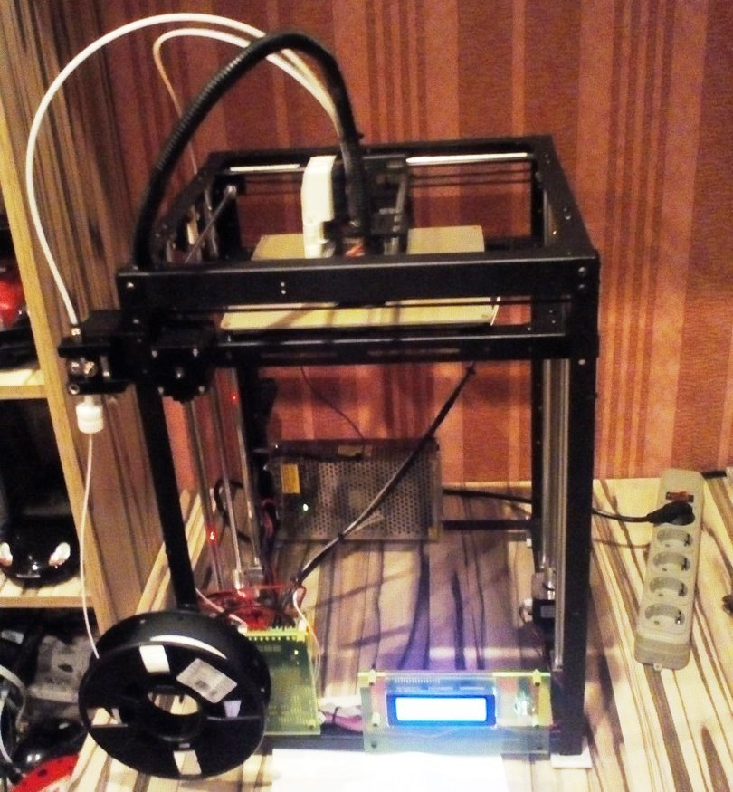 Ремонт холодильника с помощью 3d-принтера: 3d-принтерFlyingbear P905X Large